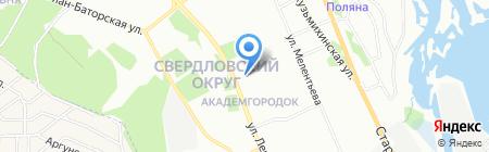 Мир пальто на карте Иркутска