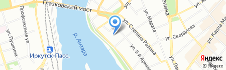 Элитстрой на карте Иркутска