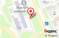 Схема проезда до компании БизнесСтрой в Иркутске