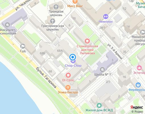 Товарищество собственников жилья «ТСЖ Эксперт» на карте Иркутска