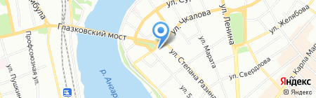 Бьюти Бюро №1 на карте Иркутска