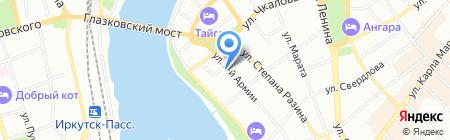 КофеМаг на карте Иркутска