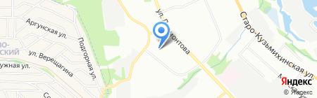 ГарантЭнерго на карте Иркутска