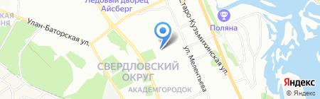 Детская школа искусств №5 на карте Иркутска