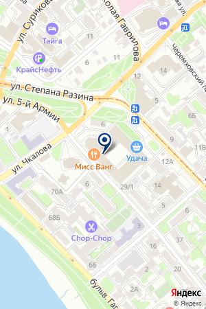 БАНК РУССКИЙ СТАНДАРТ на карте Иркутска