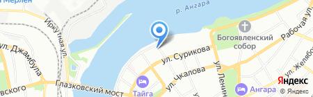 Профи эль на карте Иркутска