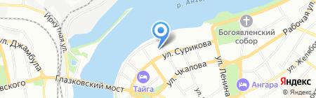 МИККОНТ на карте Иркутска