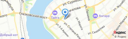 Ключ-Сервис на карте Иркутска
