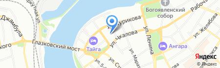Иркутская областная организация горно-металлургического профсоюза России на карте Иркутска