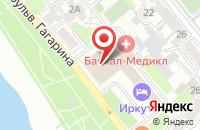Схема проезда до компании Метелица-Медиа+ в Иркутске
