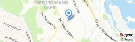 Плюшка на карте Иркутска