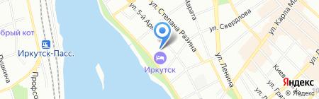 Центр финансово-экономической информации на карте Иркутска