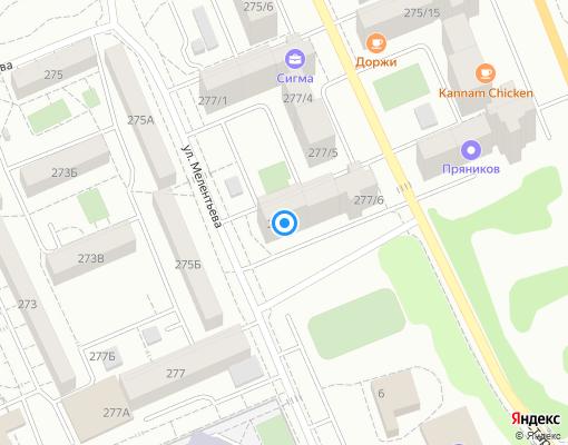 Управляющая компания «Прогресс-Сервис» на карте Иркутска