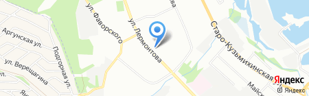 Арт Beauty Холдинг на карте Иркутска