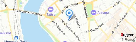 Персона на карте Иркутска
