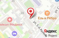 Схема проезда до компании Молодежный Магазин в Иркутске