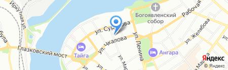 Иркутский областной департамент юридической помощи на карте Иркутска