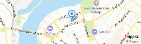 Pink на карте Иркутска