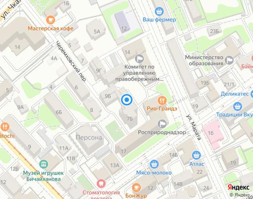 Товарищество собственников жилья «Черемховский» на карте Иркутска