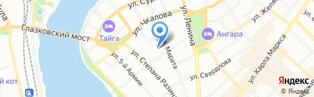 Медиа Центр на карте Иркутска