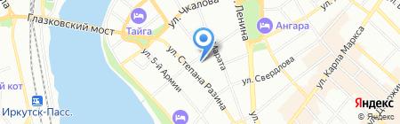 БонЖур на карте Иркутска