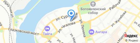 ПромТэк на карте Иркутска