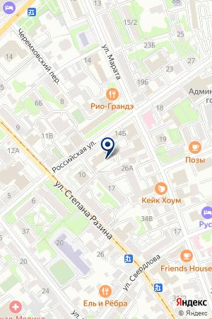 БАНК СТРОЙКРЕДИТ на карте Иркутска