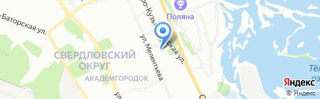 Класс-маркет на карте Иркутска