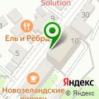 Местоположение компании Объединенный сервисно-визовый центр в г. Иркутске