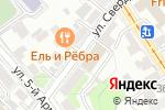 Схема проезда до компании Банкомат, Банк Югра, ПАО в Иркутске