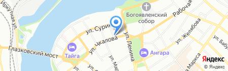 Надежный дом на карте Иркутска