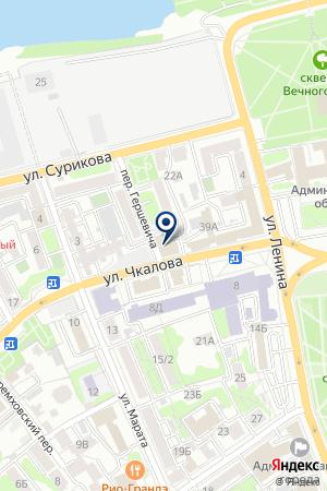 АЗС-ЦЕНТР на карте Иркутска