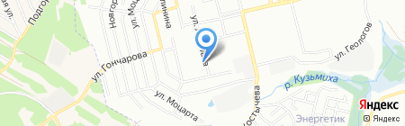 I-DEA на карте Иркутска