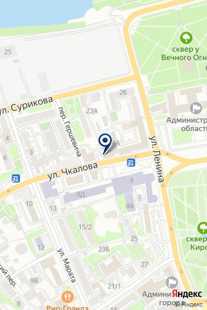 СИБАКАДЕМБАНК на карте Иркутска