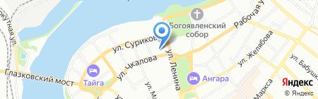 Эксперт на карте Иркутска