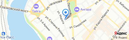 Women на карте Иркутска
