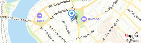 Антиквар на карте Иркутска