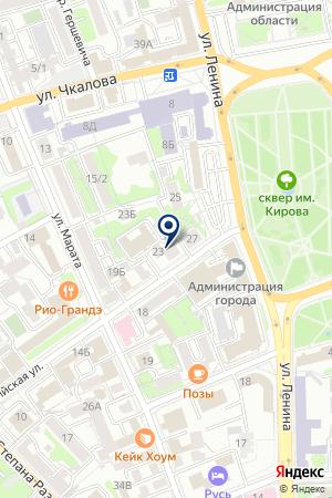 МАГАЗИН-САЛОН АНТИКВАP на карте Иркутска