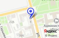 Схема проезда до компании ВОРОТА ИРКУТСК в Иркутске
