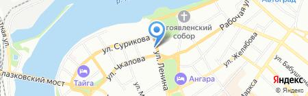 Сити Инвест Строй на карте Иркутска