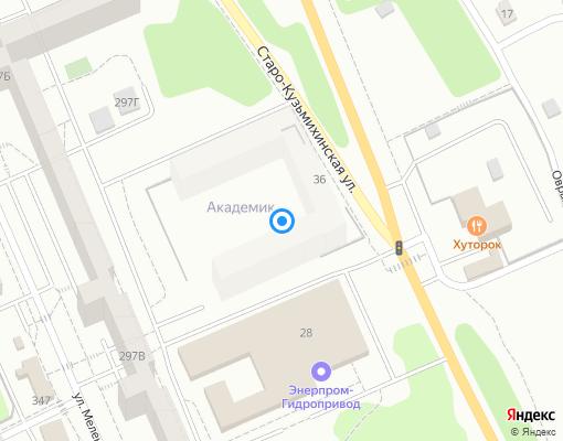 Управляющая компания «ЖКХ ИНЦ СО РАН» на карте Иркутска