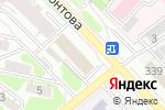 Схема проезда до компании Капиталремстрой в Иркутске
