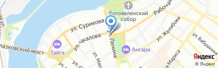 Радио-Город на карте Иркутска