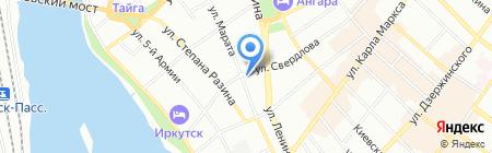 Факультетские клиники на карте Иркутска