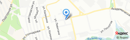 Элина на карте Иркутска