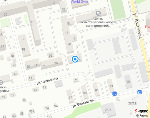 Товарищество собственников жилья «Приват» на карте Иркутска