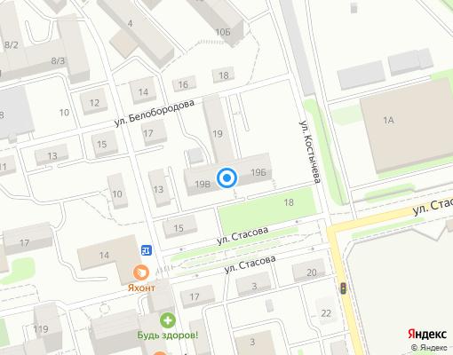 Товарищество собственников жилья «Ника» на карте Иркутска