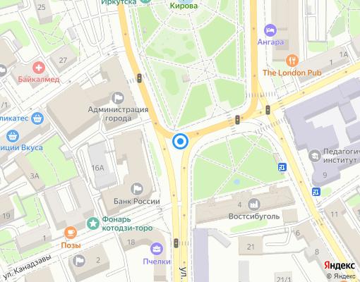 Управляющая компания «Хозяин Дома» на карте Иркутска