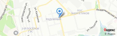 Гешефт на карте Иркутска