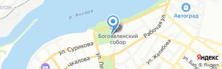 Сейф-Сервис на карте Иркутска